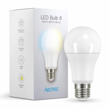 AEOTEC Z-Wave LED lampput (LED Bulb 6)